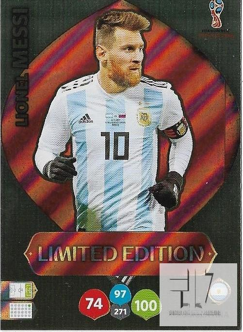 W.C.18  Limited Edition - Messi