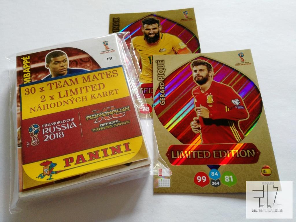 WORLD CUP RUSSIA 2018 - SADA 30 + 2 Limited