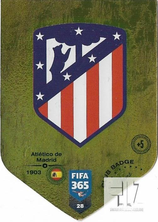 F.19 Club Badge - Atletico Madrid