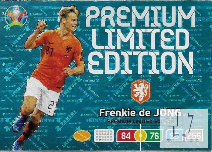 EUR.20 Limited Edition - de Jong