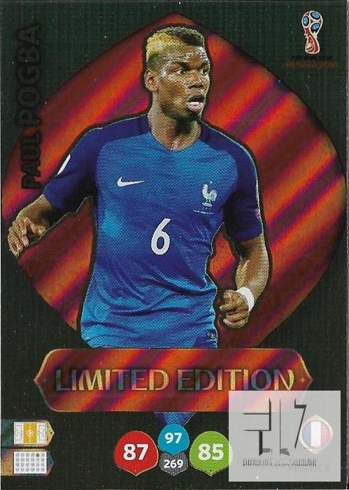 W.C.18  Limited Edition - Pogba