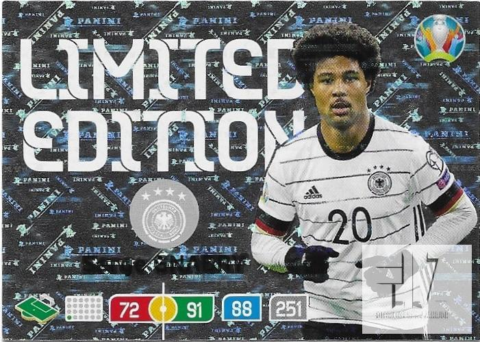 EUR.20 Limited Edition - Gnabry