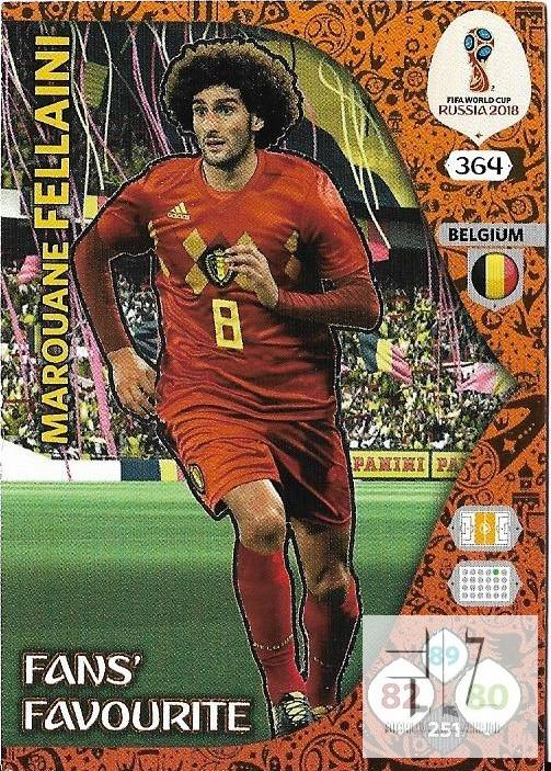W.C.18 Fans Favourite - Fellaini