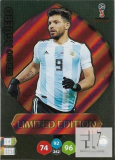 W.C.18  Limited Edition - Aguero