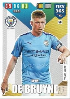 F.20 Team Mate - De Bruyne
