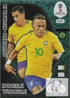 W.C.18 Double Trouble - Coutinho / Neymar Jr