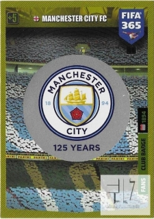 F.20 Club Badge - Manchester City