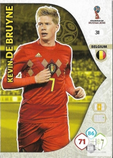 W.C.18 Team Mate - De Bruyne