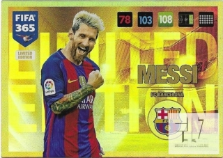 F.17  Limited Edition - Messi