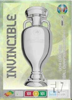 EU.20 INVINCIBLE - UEFA EUROPEAN FOOTBALL CHAMPIONSHIP TROPHY