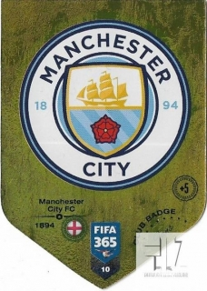 F.19 Club Badge - Manchester City