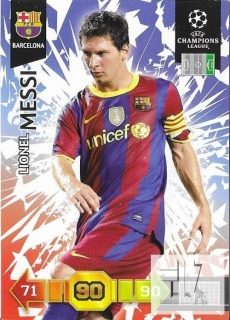 CH.L.10/11 Team Mate - Messi