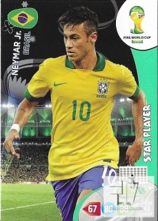 W.C.14 Star Player - Neymar
