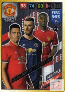 F.18 Defensive Wall - Smalling / de Gea / Bailly