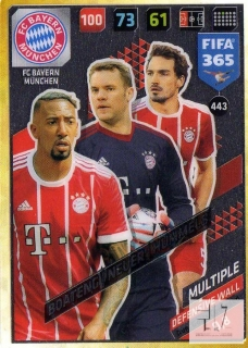 F.18 Defensive Wall - Boateng / Neuer / Hummels