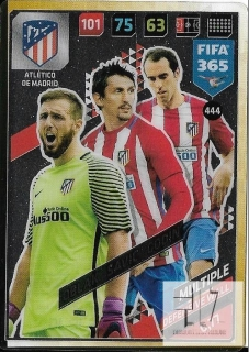 F.18 Defensive Wall - Oblak / Savic / Godin