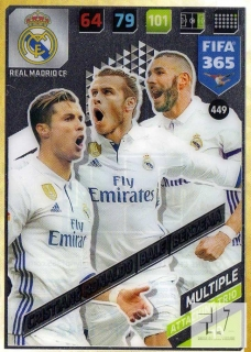 F.18 Attacking Trio - Ronaldo / Bale / Benzema