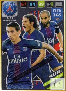 F.18 Attacking Trio - Di Maria / Cavani / Lucas