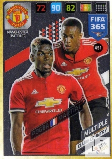 F.18 Club & Country - Pogba / Martial