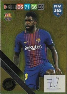 F.19  Limited Edition - Umtiti