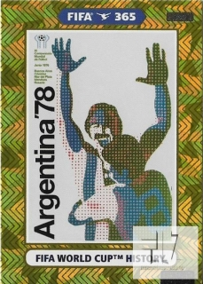 F.21 FIFA WORLD CUP HISTORY - Argentina 1978