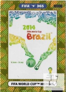 F.21 FIFA WORLD CUP HISTORY - Brazil 2014