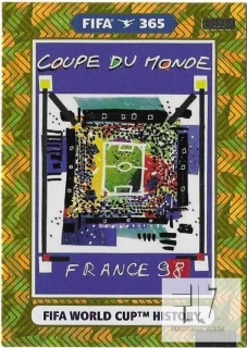 F.21 FIFA WORLD CUP HISTORY - France 1998