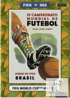 F.21 FIFA WORLD CUP HISTORY - Brazil 1950