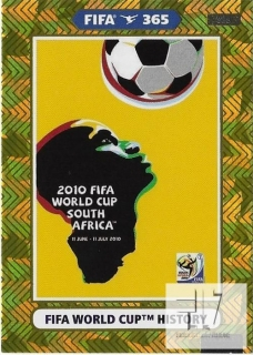 F.21 FIFA WORLD CUP HISTORY - South Africa 2010