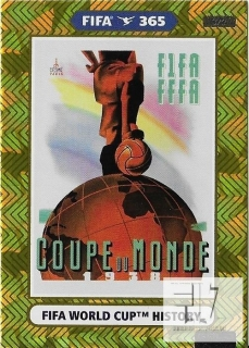 F.21 FIFA WORLD CUP HISTORY - France 1938
