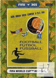 F.21 FIFA WORLD CUP HISTORY - Sweden 1958
