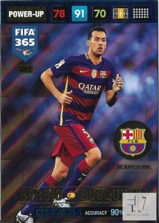 F.17 Key Player - Busquets