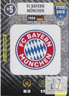 F.21 Club Badge - Bayern Munchen