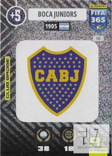 F.21 Club Badge - Boca Juniors