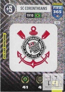 F.21 Club Badge - Corinthians