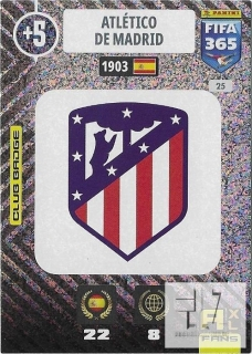 F.21 Club Badge - Atletico Madrid