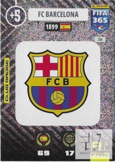 F.21 Club Badge - Barcelona