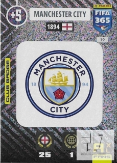 F.21 Club Badge - Manchester City