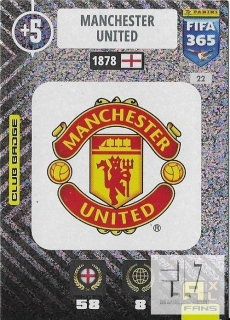 F.21 Club Badge - Manchester United