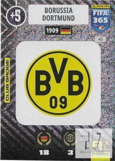 F.21 Club Badge - Borussia Dortmund