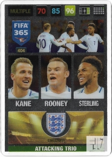 F.17 Attacking Trio - Kane / Rooney / Sterling