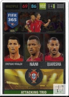 F.17 Attacking Trio - Ronaldo / Nani / Quaresma