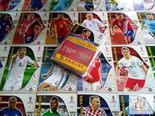 WORLD CUP RUSSIA 2018 - SADA 30 x Team Mate karet