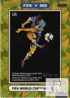 F.21 FIFA WORLD CUP HISTORY - Germany 1974
