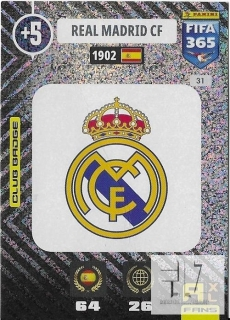 F.21 Club Badge - Real Madrid