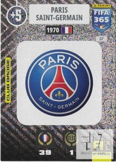 F.21 Club Badge - Paris Saint-Germain